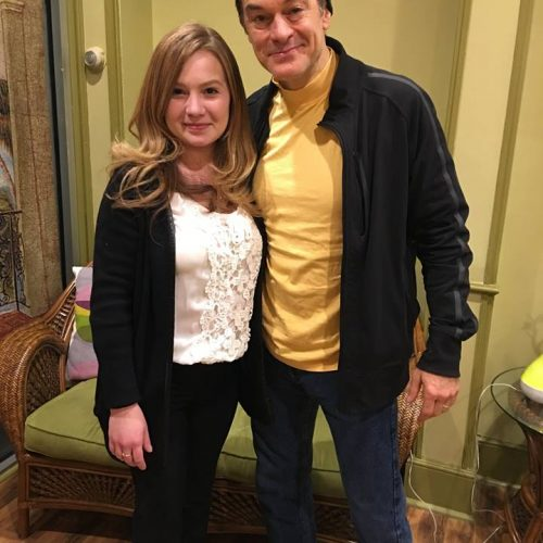 Dr. Oz Visits Lana's Organic Day Spa