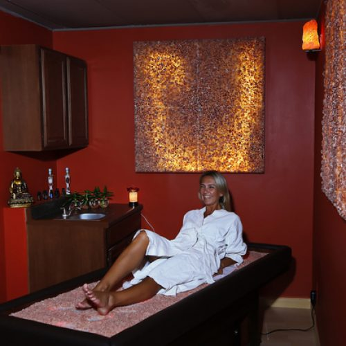 Himalayan Salt Bed Massage Therapy
